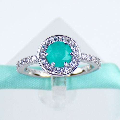 Blue Paraiba Tourmaline Ring - 6Grape Fine Jewelry