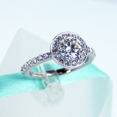 1Carat Moissanite Ring - 6Grape Fine Jewelry