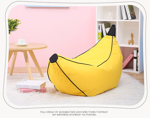 Delicieux Banana Children Bean Bag Kids Bean Bag Chair With Filling