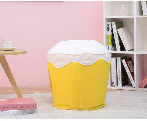 Ice-Cream Children Bean Bag Kids Bean Bag Chair with Filling