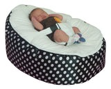 Polka Dot Series - Spotty Black & White Baby bean bag - Mama Baba                                                                     Baby Bean Bag World                   - 1