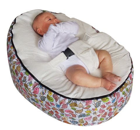 Animal Series - Birdie baby bean bag - Mama Baba                                                                     Baby Bean Bag World                   - 1
