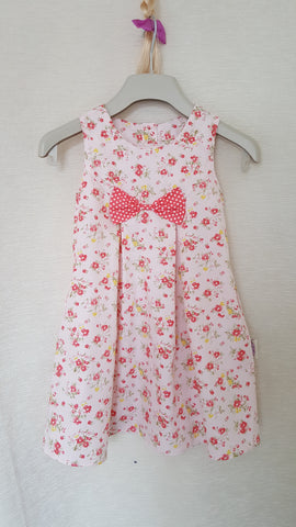 1b Vintage style Girls Floral summer party holiday dress from age 1 to 8