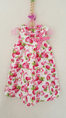 5c Vintage style Girls Floral summer party holiday dress from age 1 to 8