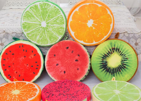 Top Quality 3D Fruit Cushion Pillow Sofa Pillow