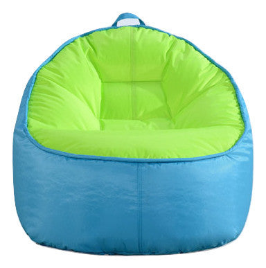 Top Quality Children Bean Bag Kids Bean Bag with Filling-Turquoise - Mama Baba                                                                     Baby Bean Bag World                   - 1