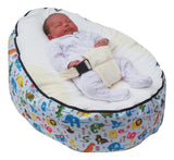 Animal Series - Safari Baby Bean Bag - Mama Baba                                                                     Baby Bean Bag World                   - 1