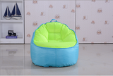 Top Quality Children Bean Bag Kids Bean Bag with Filling-Turquoise - Mama Baba                                                                     Baby Bean Bag World                   - 3