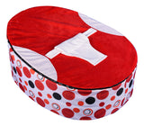 Spotty Series - Red Circle Baby Bean Bag - Mama Baba                                                                     Baby Bean Bag World                   - 2