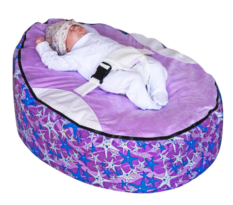Seastar Purple Baby Bean Bag