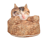 Cat Children Bean Bag Sofa Chairs Kids Beanbag with Filling