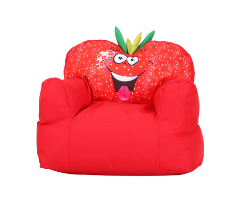 Strawberry Children Bean Bag Kids Bean Bag with Filling …