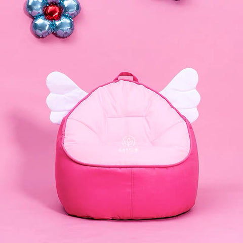 Top Quality Children Bean Bag Kids Bean Bag with Filling-Pink