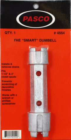 The Smart Dumbell Drain Wrench - Plumbing Parts Pro