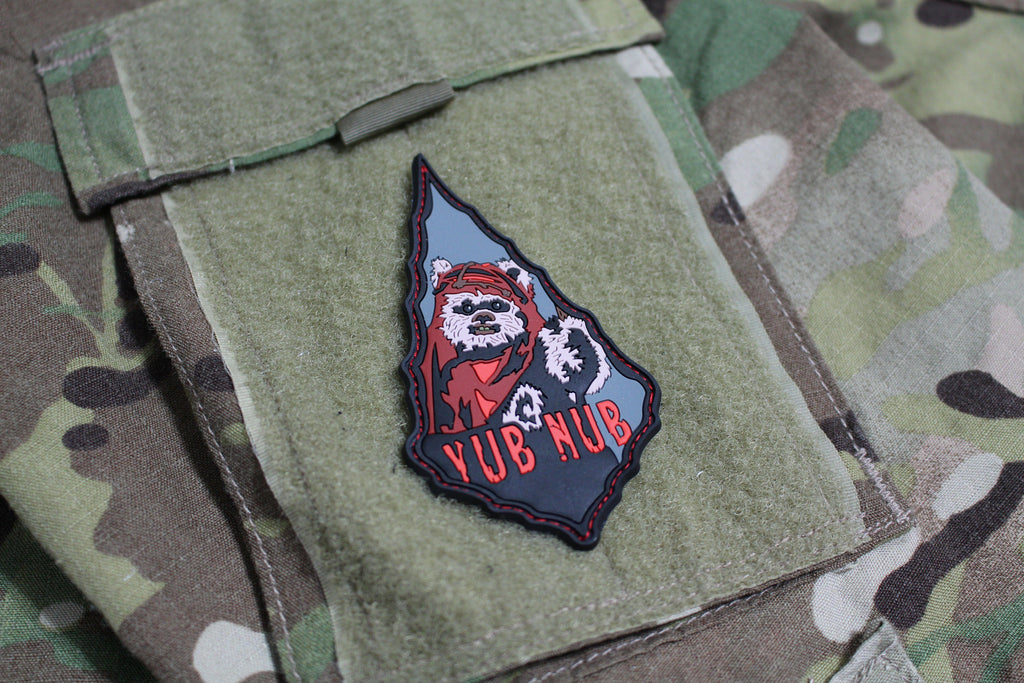 Yub Nub Ewok Morale Patch - Always Outnumbered Morale Patches