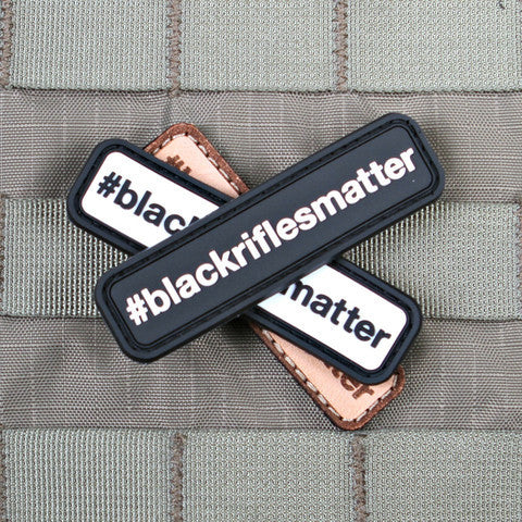 #blackriflesmatter Morale Patch (3 VARIANTS) - Always Outnumbered Morale Patches