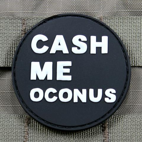 CASH ME OCONUS MORALE PATCH - Always Outnumbered Morale Patches