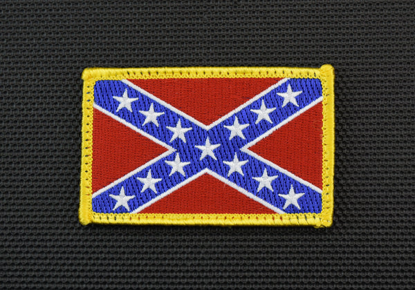 CONFEDERATE FLAG MORALE PATCH - Always Outnumbered Morale Patches
