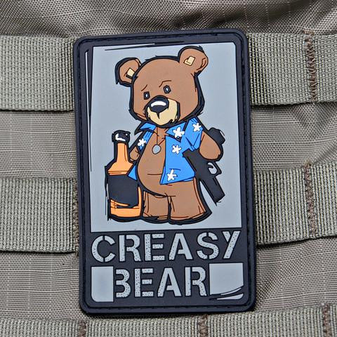 Creasy Bear OG Patch - Always Outnumbered Morale Patches