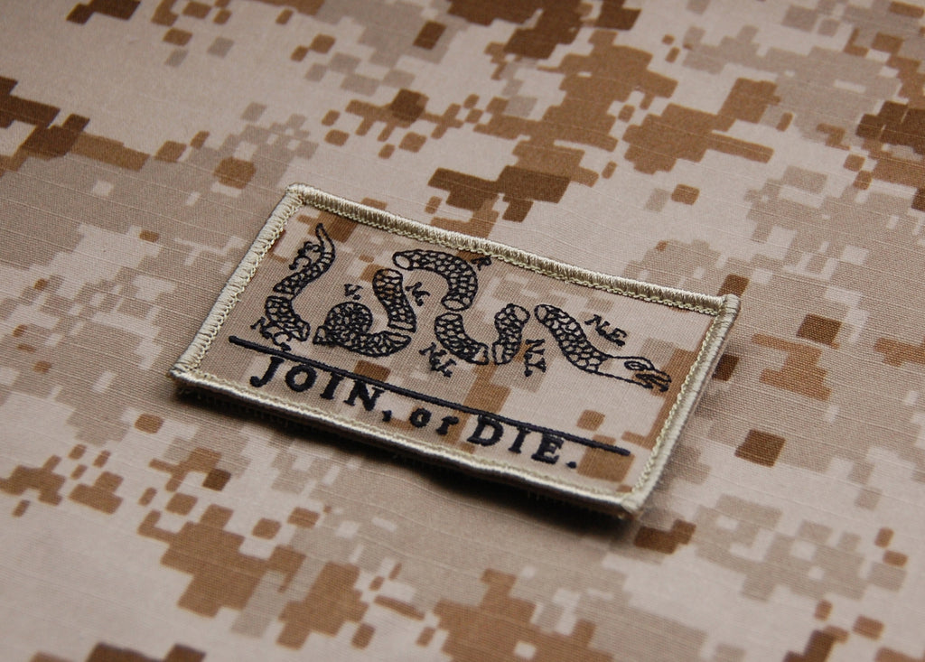 AOR1 Join or Die Morale Patch - Always Outnumbered Morale Patches