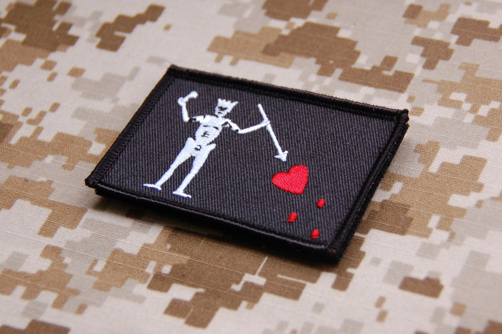 BlackBeard/Edward Teach Morale Patch - Always Outnumbered Morale Patches