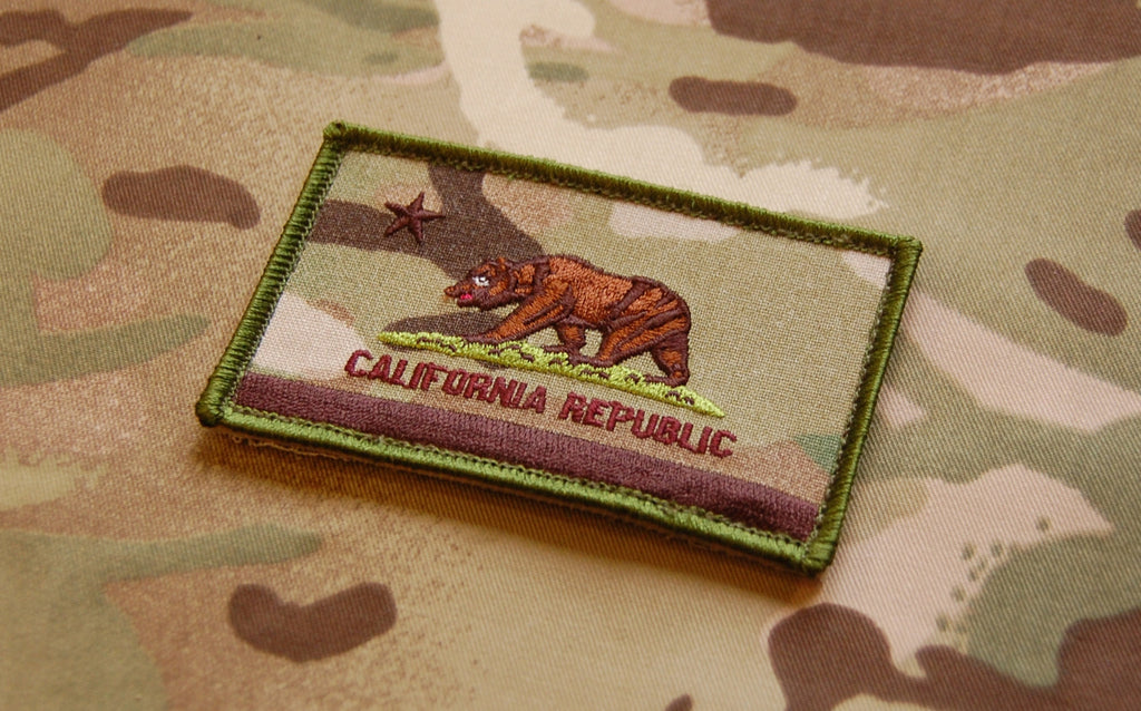 Cali Republic Multicam Patch - Always Outnumbered Morale Patches