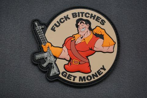 Fuck Bitches Get Money Morale Patch Gaston - Always Outnumbered Morale Patches