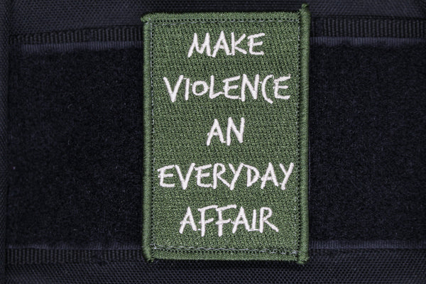Everyday Affair Morale Patch - Always Outnumbered Morale Patches