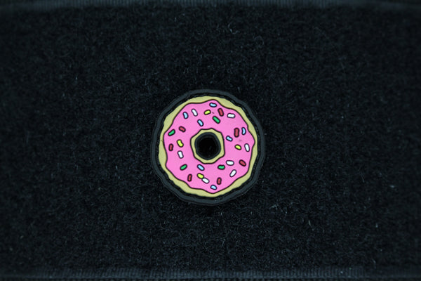 DONUT CAT EYE 3D PVC MORALE PATCH - Always Outnumbered Morale Patches