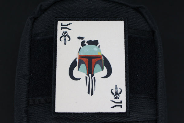 FETT DEATH CARD MORALE PATCH - Always Outnumbered Morale Patches