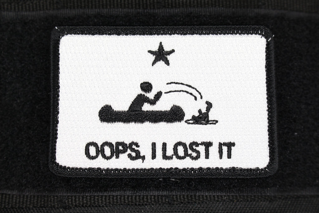 OOPS I LOST IT - Always Outnumbered Morale Patches