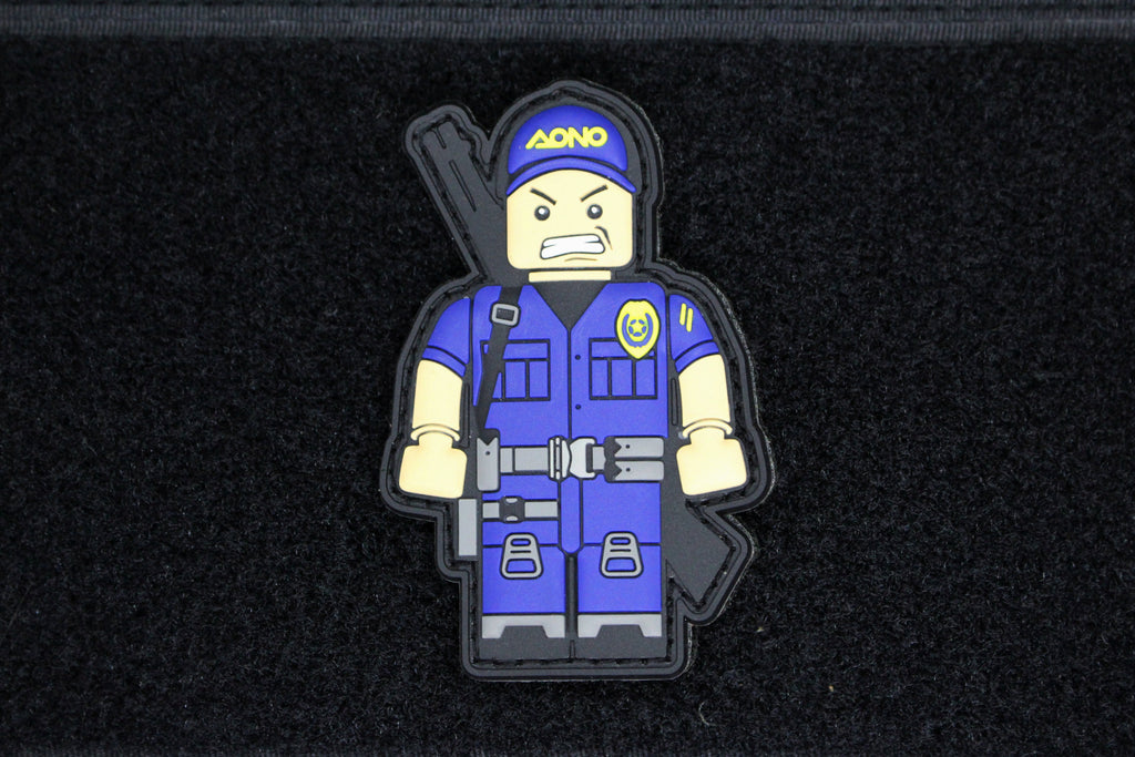 AONO Thin Blue Line Operator Morale Patch - Always Outnumbered Morale Patches