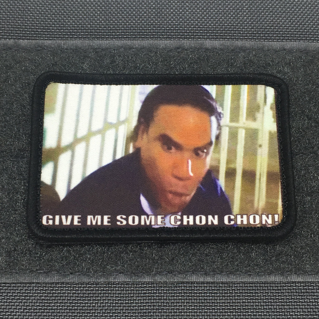 GIVE ME SOME CHON CHON! MORALE PATCH - Always Outnumbered Morale Patches