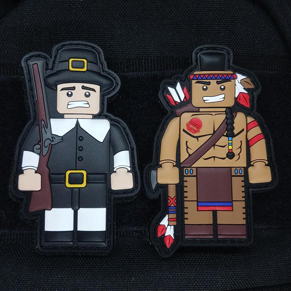 Thanksgiving Duo Patch Set 2018 - Always Outnumbered Morale Patches