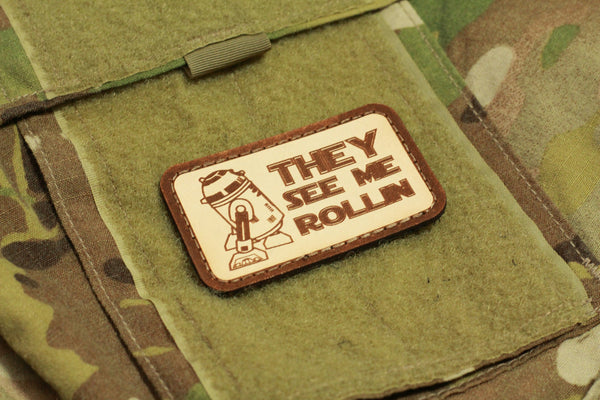 They See Me Rollin Morale Patch - Always Outnumbered Morale Patches