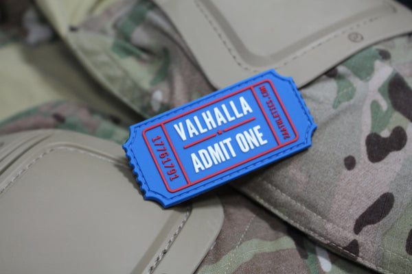 Valhalla Ticket Morale Patch - Always Outnumbered Morale Patches