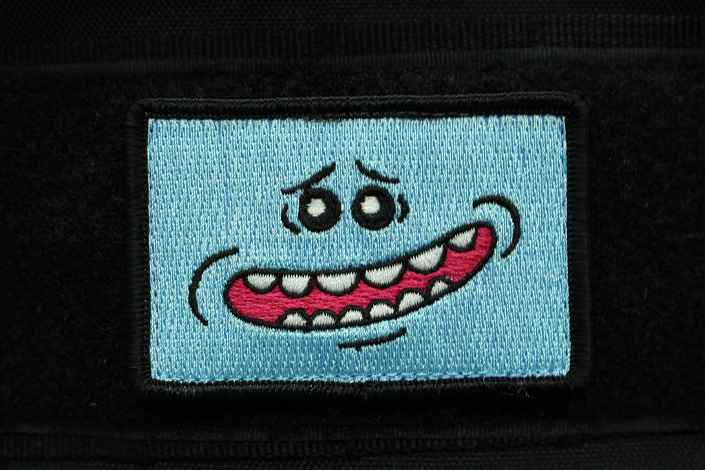 MR. MEESEEKS V2 MORALE PATCH - Always Outnumbered Morale Patches