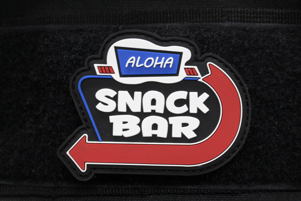Aloha Snackbar Morale Patch (2 Variants) - Always Outnumbered Morale Patches