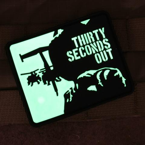 THIRTY SECONDS OUT MORALE PATCH - Always Outnumbered Morale Patches