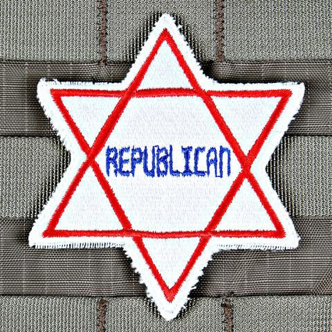 Republican Star Patch - Always Outnumbered Morale Patches