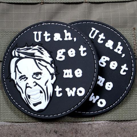 GET ME TWO BUSEY PATCH - Always Outnumbered Morale Patches