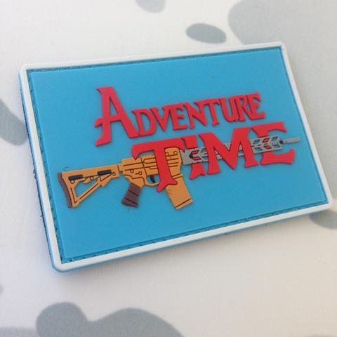 Adventure Time AR15 Morale Patch - Always Outnumbered Morale Patches