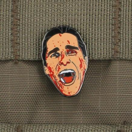 Patrick Bateman Lapel Pin - Always Outnumbered Morale Patches