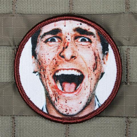 Bloody Patrick Bateman Morale Patch - Always Outnumbered Morale Patches