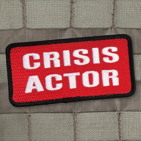 Crisis Actor Morale Patch - Always Outnumbered Morale Patches