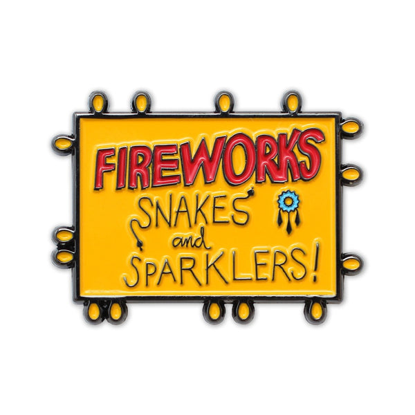 FireWorks Pin   50% OFF - Always Outnumbered Morale Patches