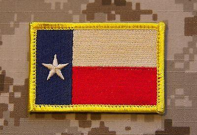 TEXAS STATE FLAG MORALE PATCH - Always Outnumbered Morale Patches