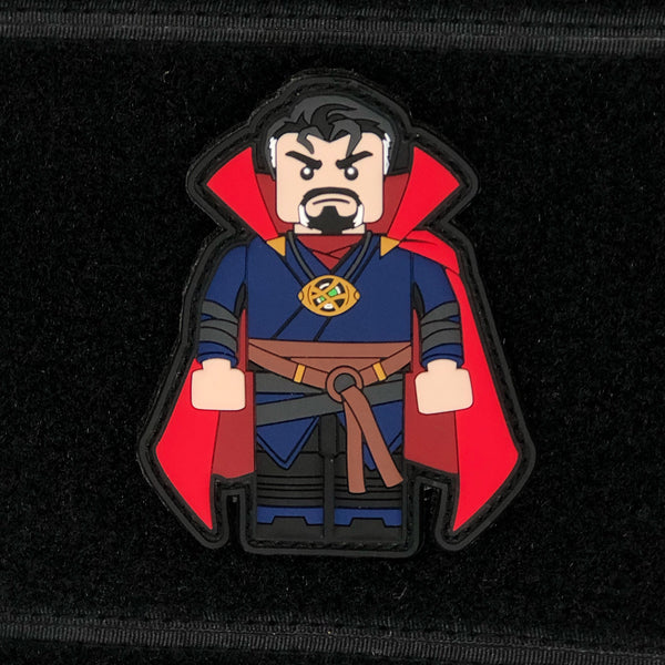 """Dr. Strange"" Brick Operator - Always Outnumbered Morale Patches"