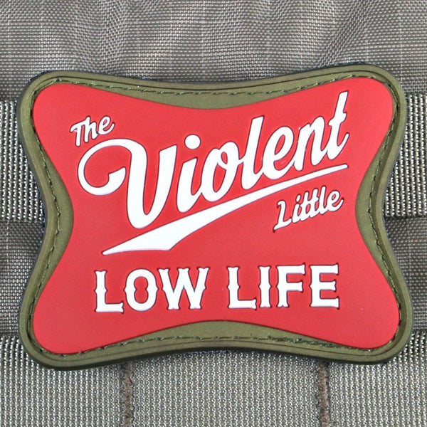 Low Life Morale Patch - Always Outnumbered Morale Patches