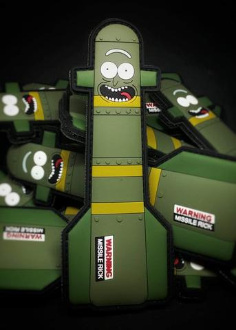 Missile Rick Morale Patch - Always Outnumbered Morale Patches